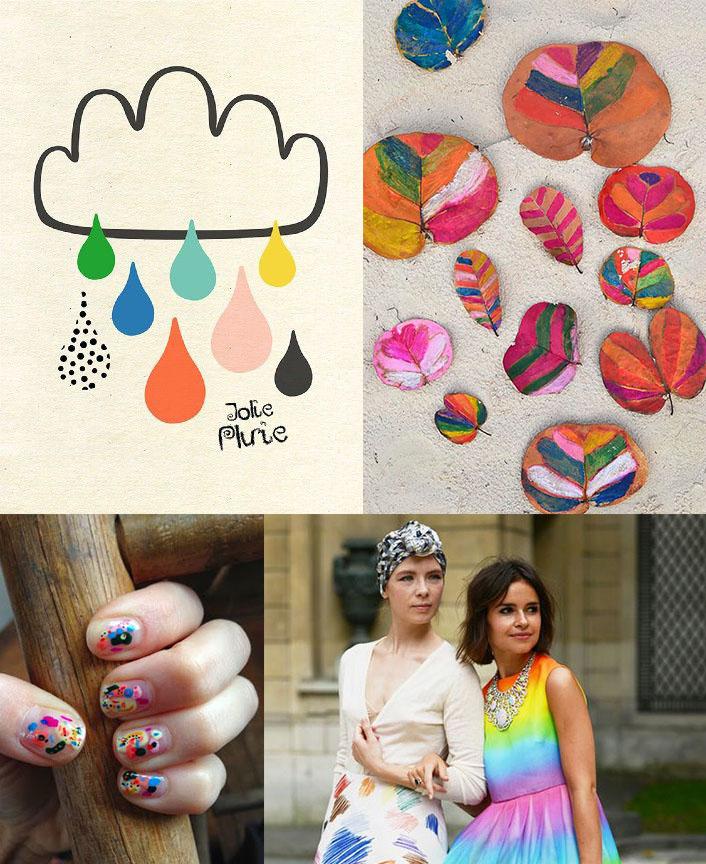 Clockwise from top left:  via Sophie Ledesma , via  Handmade Charlotte , via  Purse Forum , via  Specks & Keepings .