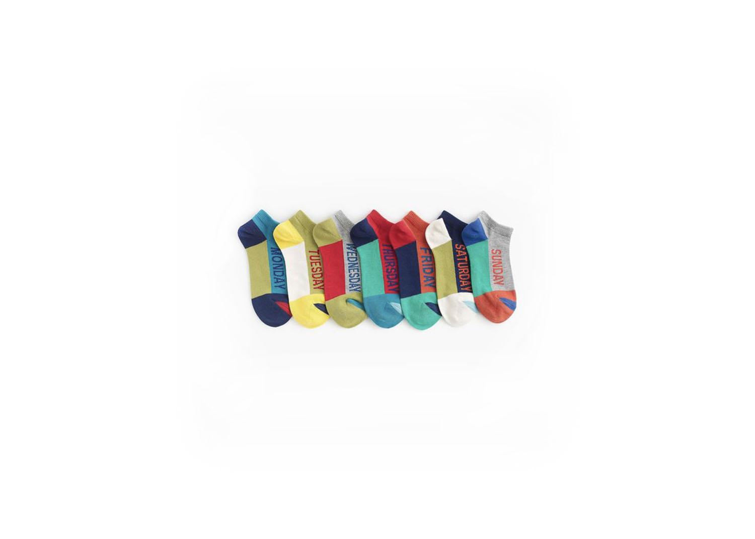 Day of the Week Ankle Socks - $26.50