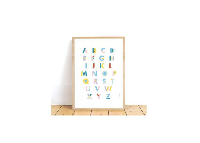 Alphabet Poster - $14.10