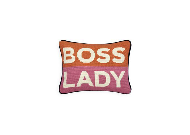 Boss Lady Pillow - $98