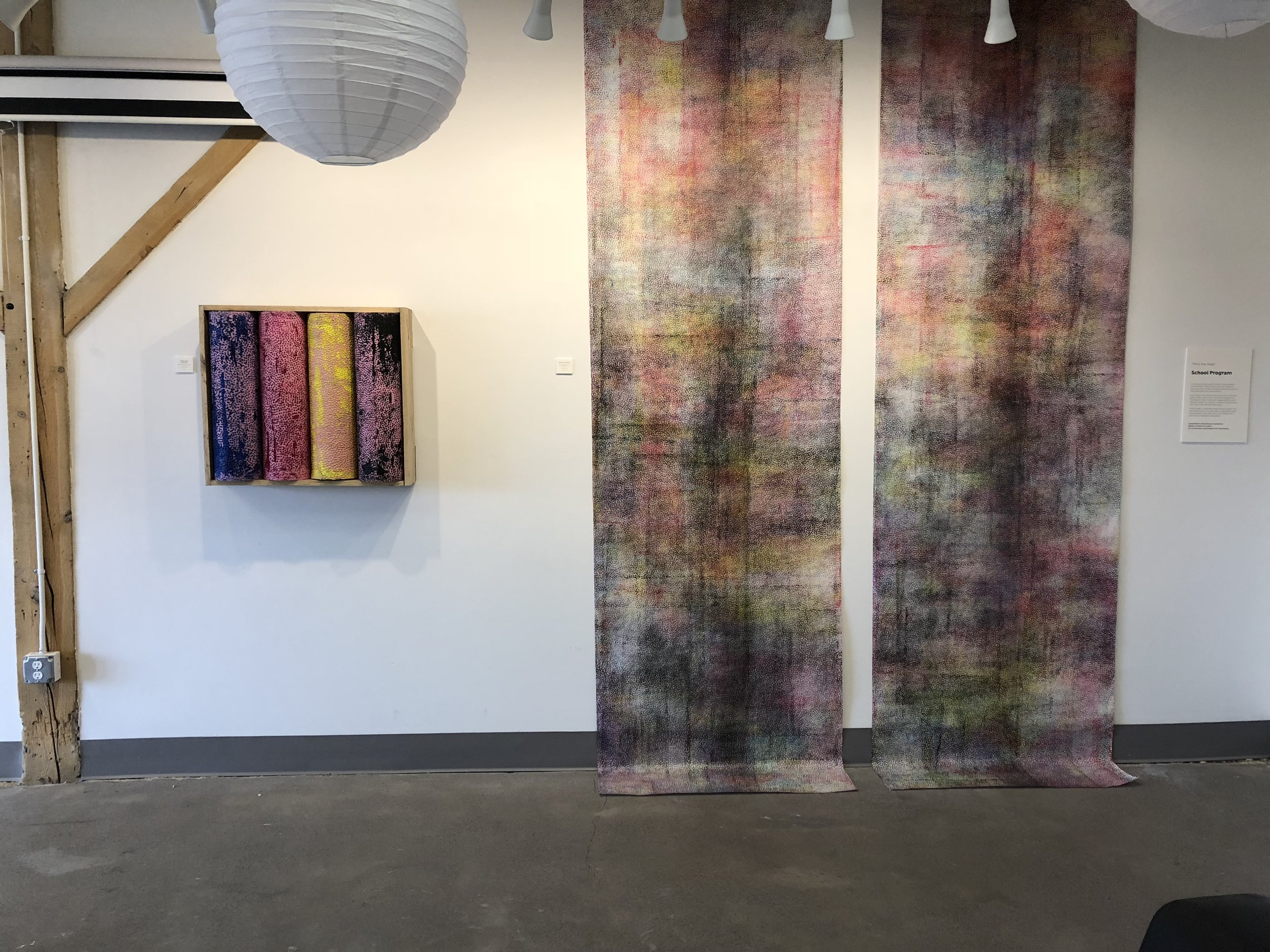 Installation view from Bend Art Center. Image courtesy of the artist.