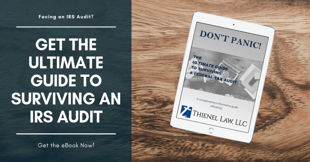 Washington DC Tax Attorney - Thienel Law