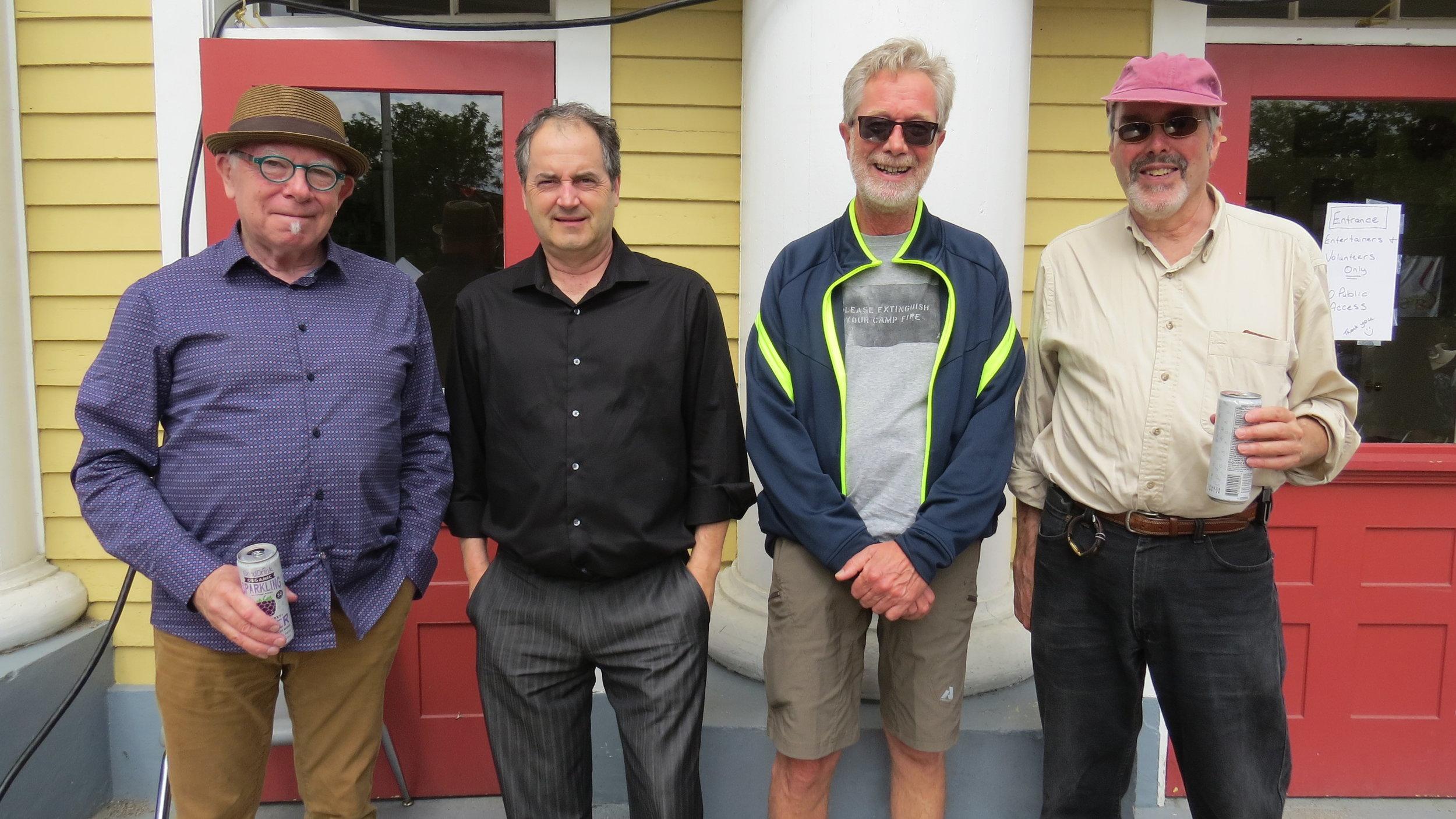 Bill Sample, Tim Stacy, Buff Allen