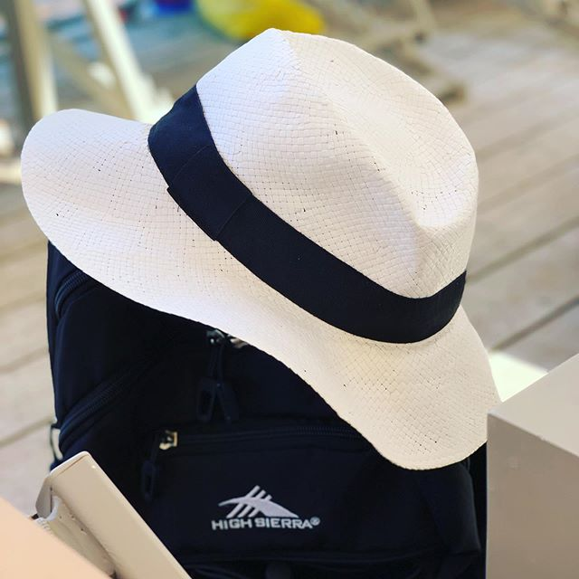 Bought this Fedora at the beginning of the trip. It's made in Italy which was cool but it is also made of paper and was only 4 euro. It lasted the trip through the wind, the sea salt, and sweat... but it's done! I gave it to the travel gods tonight! So long! #fedora #madeinitaly #travel #hats #goodfriend #italian #italy #greece #travelwear