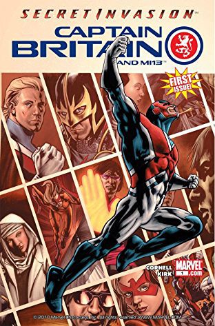 Secret Invasion: Captain Britain & MI13 #1 (Credit: Comixology)