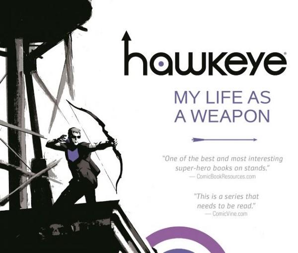 Hawkeye Vol. 1: My Life As A Weapon (Credit: Marvel.com)