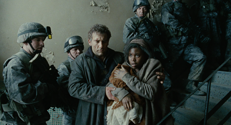 Children of Men  (2006), directed by Alfonso Cuaron