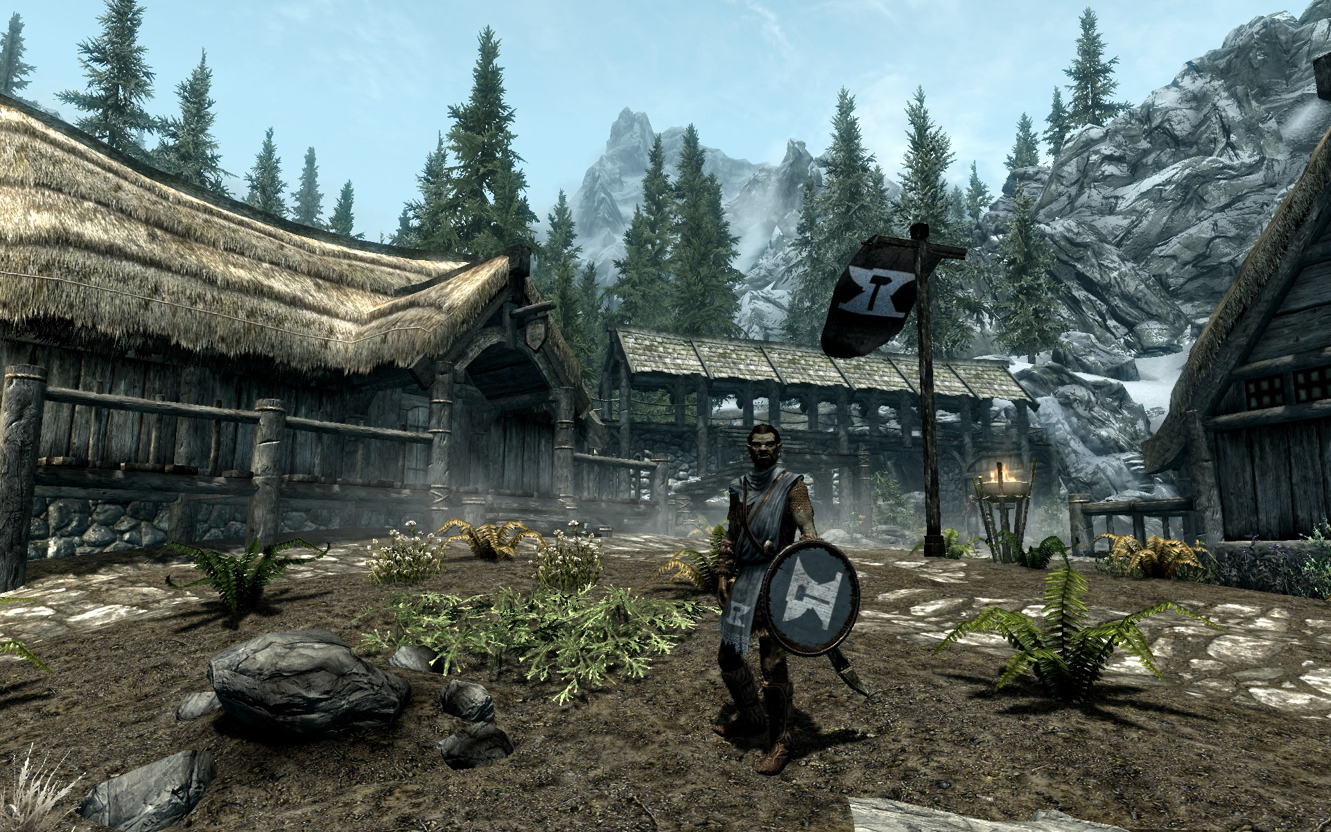 Helgen Reborn  mod page  on the Skyrim Nexus