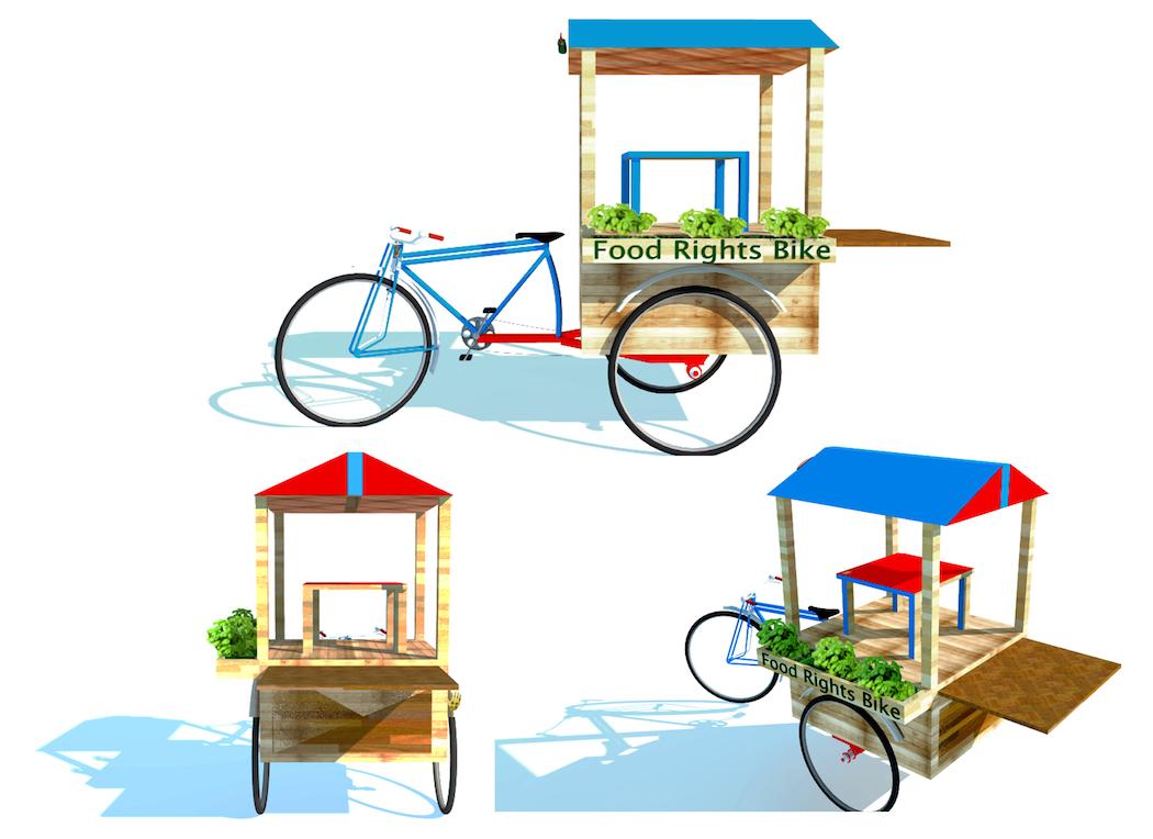 Juan William Ch  ávez   Food Rights Bike