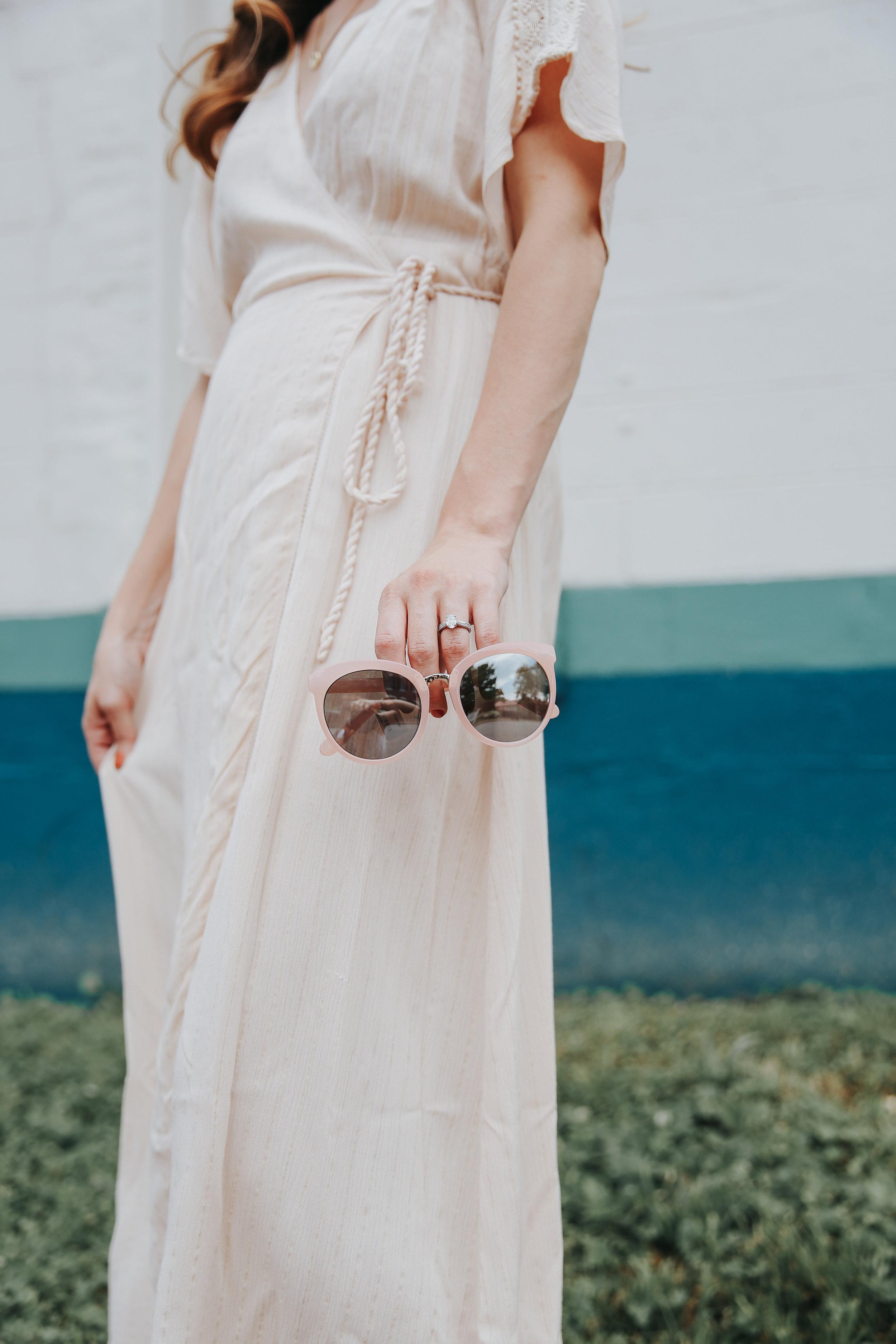 Boutique women's dress and sunglasses