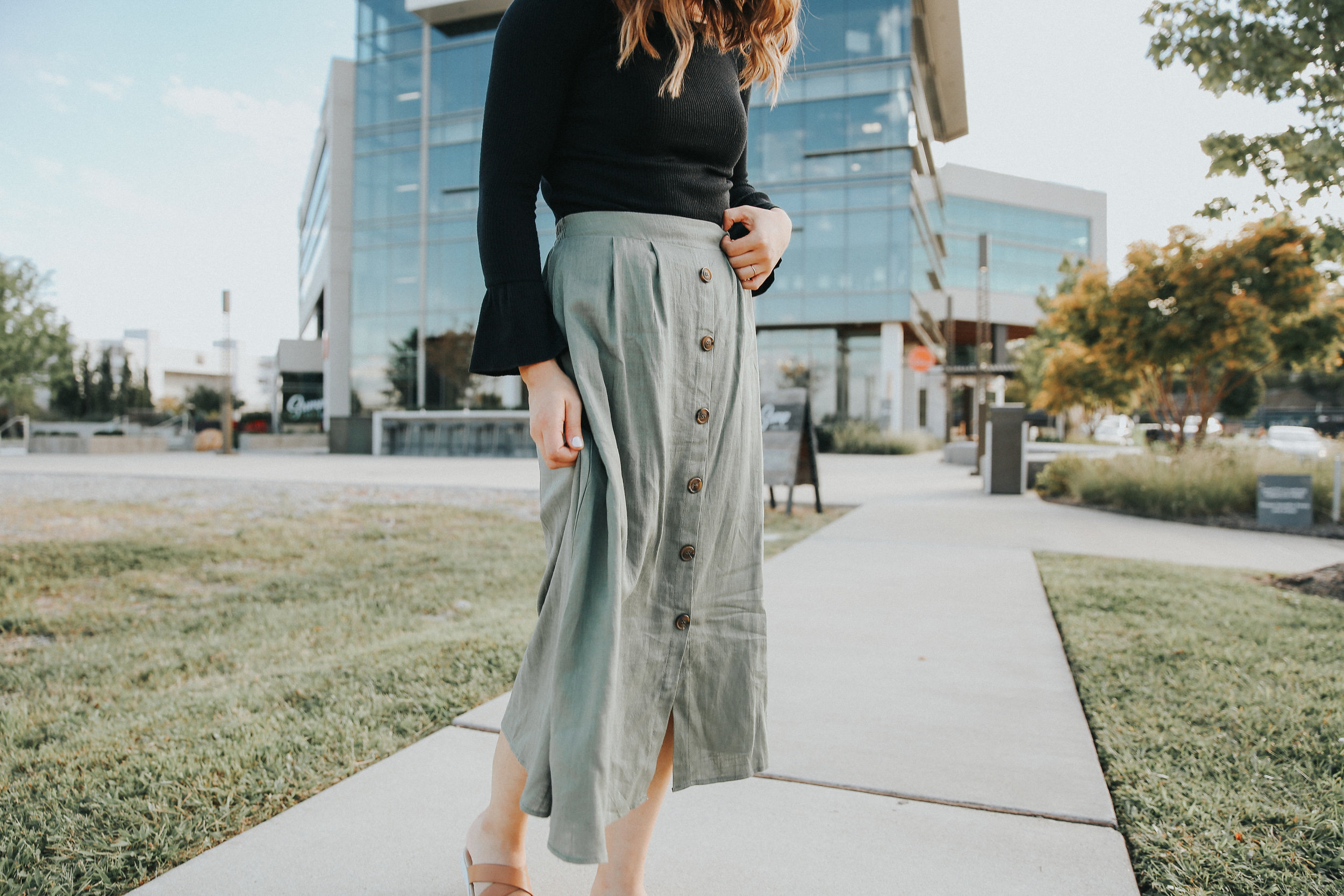 womens long skirt and top.jpg