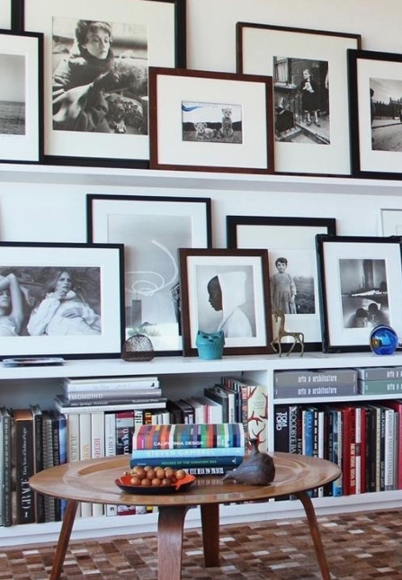 Gallery Walls heavy on photographs…