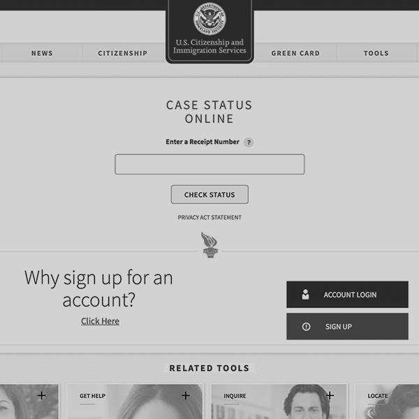 Check your case status