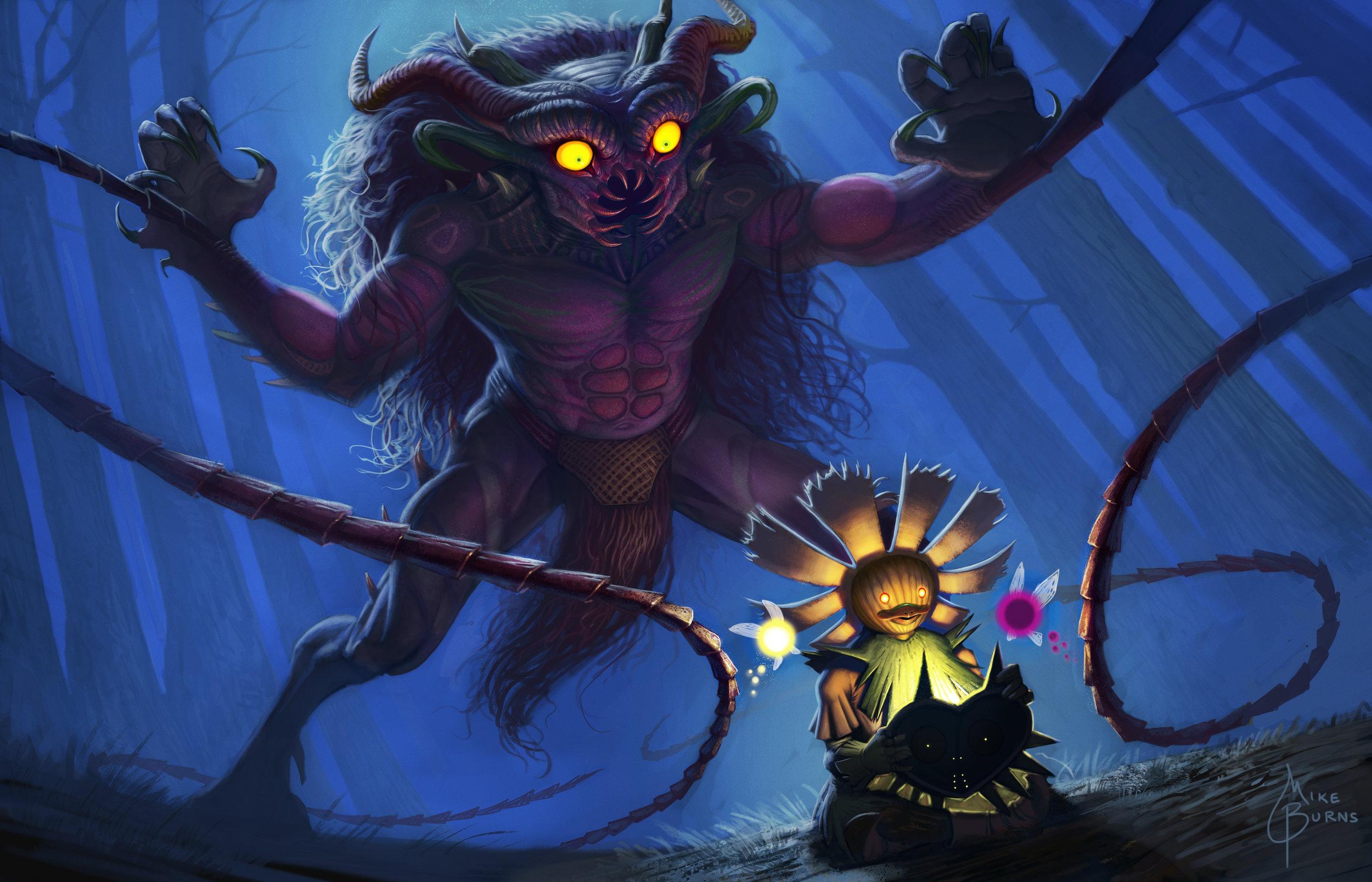 The Temptation of Majora - (Legend of Zelda: Majora's Mask)