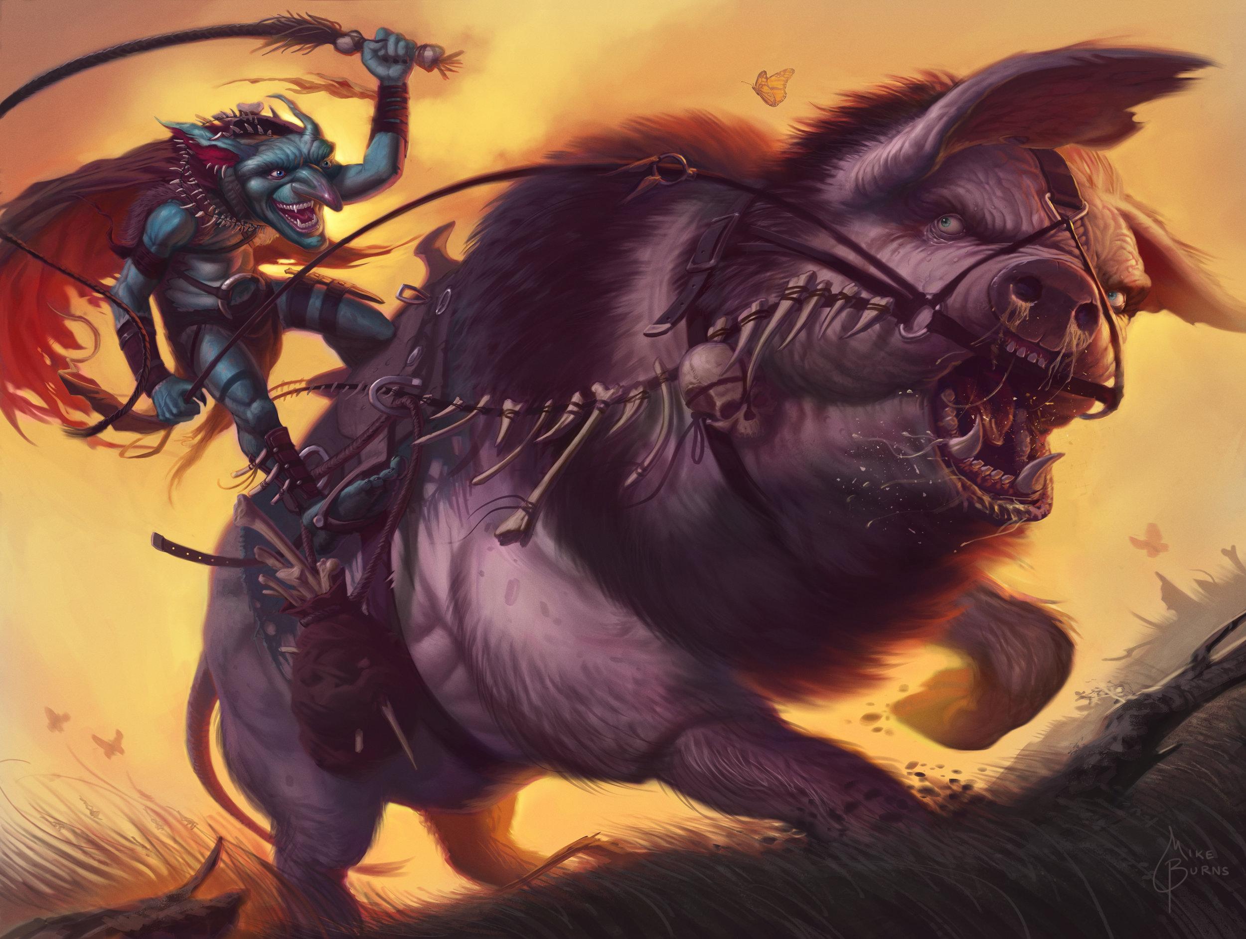 Goblin Swineherd