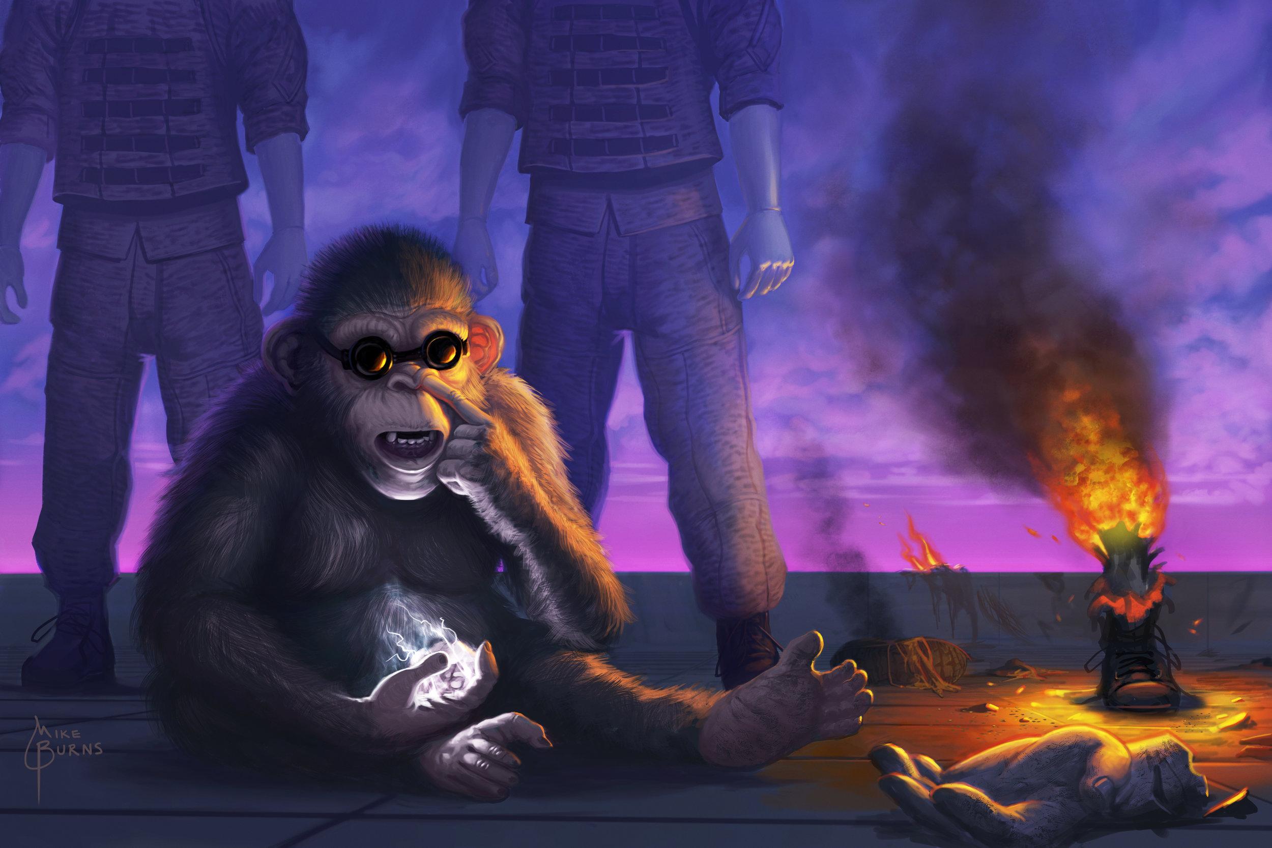 Cornelius the Chimp