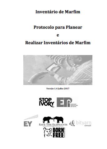Protocolo de inventário dos stocks de marfim para o planejamento e a realização dos inventários dos stocks de marfim