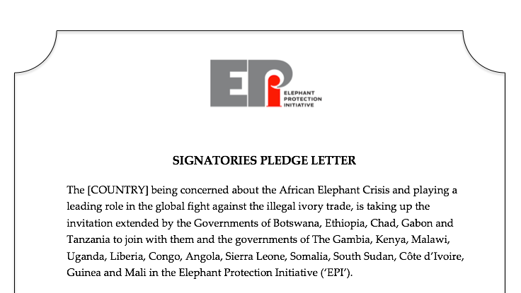 EPI Signatories Pledge Letter