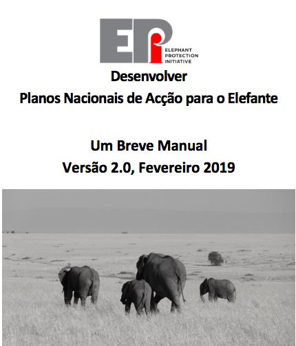 Desenvolver Planos Nacionais de Acção para o Elefante: Um Breve Manual