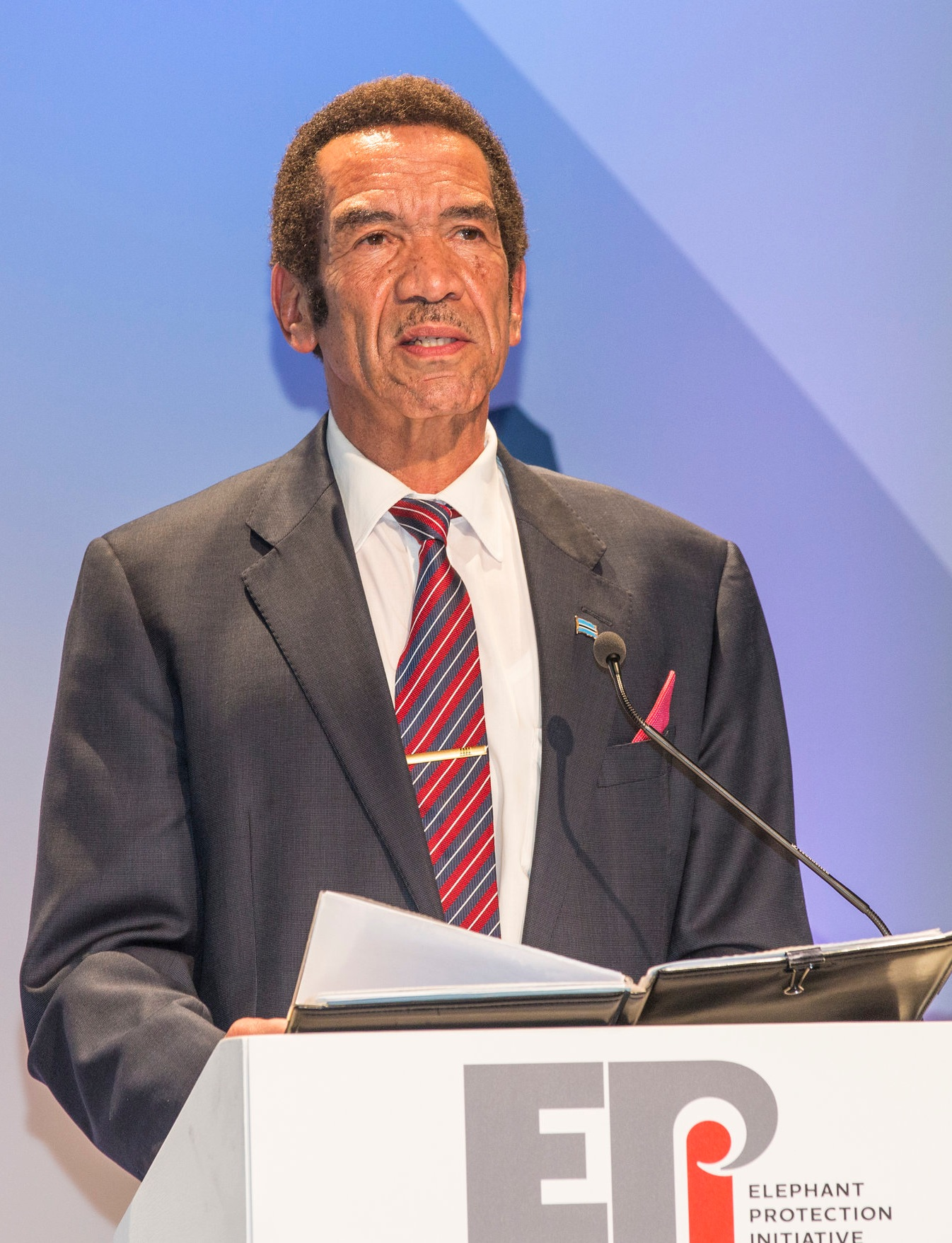 Dr Ian Khama    Fmr President of Botswana   Chair of the EPI Foundation Board