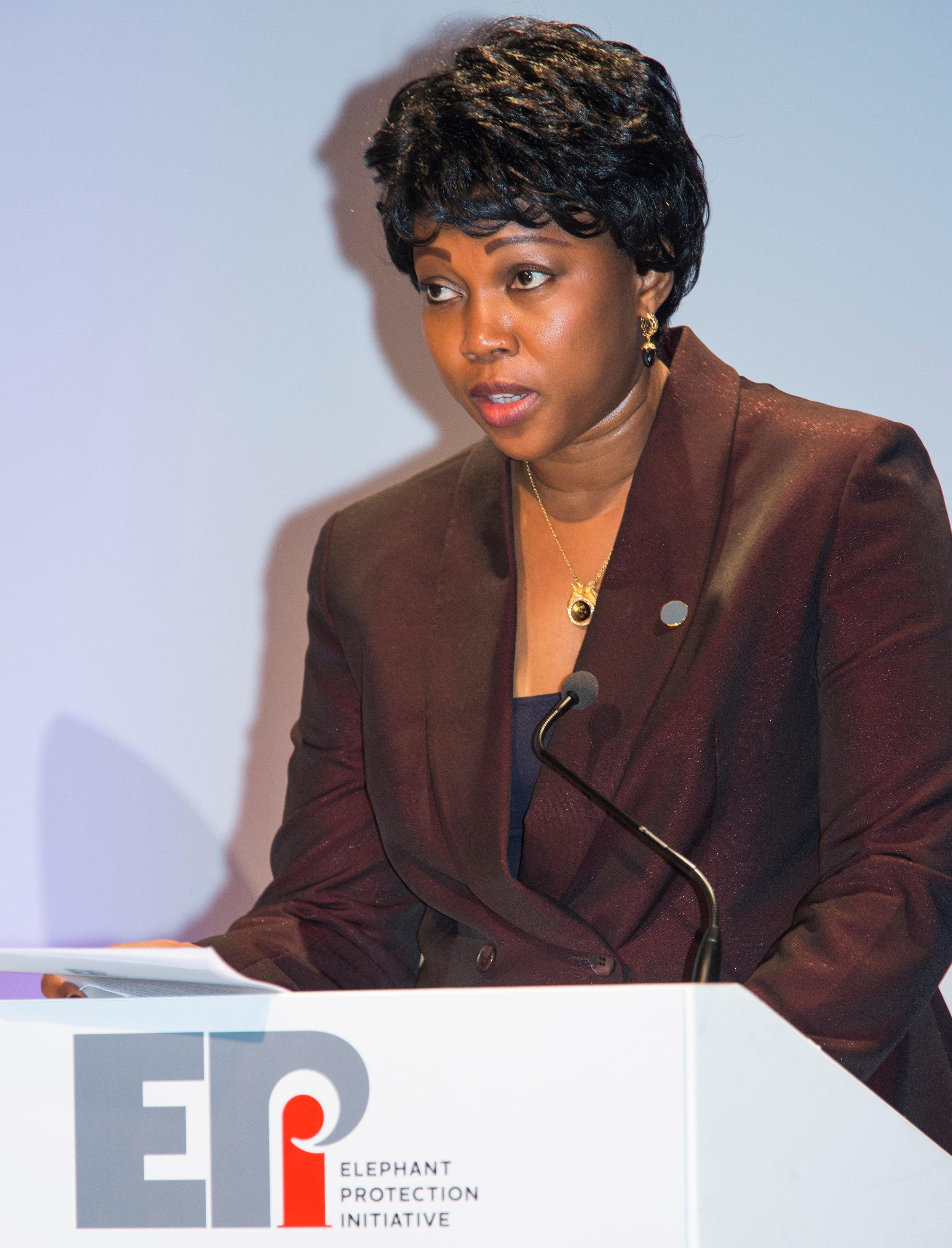 Fatima Maada Bio    First Lady of Sierra Leone