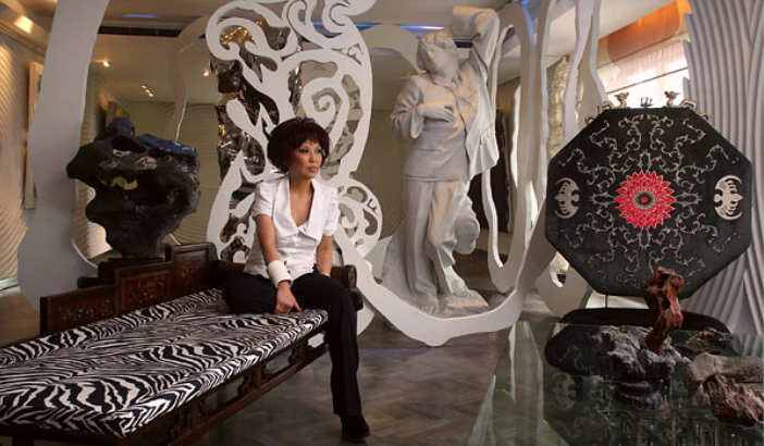 CACAPHONY Pearl Lam's Shanghai loft overflows with cross-cultural art and design. Credit: Doug Kanter for The New York Times