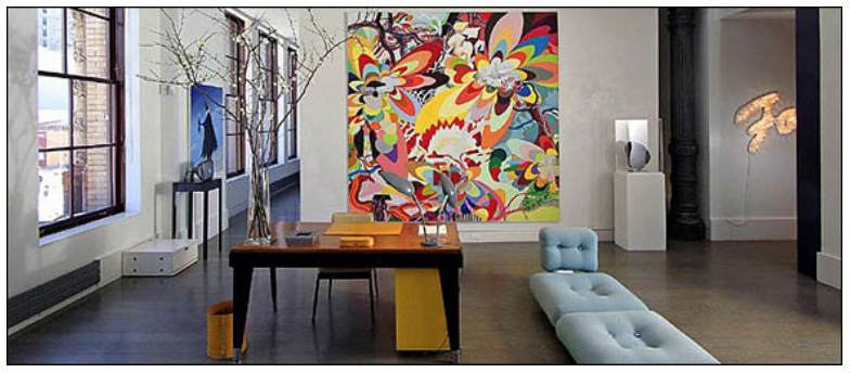 The home of Dominique Lévy and Dorothy Berwin. Photo: John Lei for the New York Times