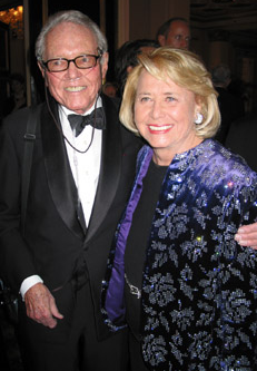 George Trescher and Liz Smith. Photo: www.newyorksocialdiary.com