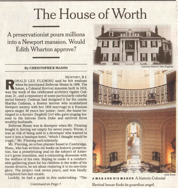 The House of Worth Bellvue House Newport. Photo: Andy Ryan.png
