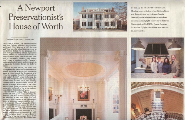 The House of Worth Bellvue House Newport. Photos: Andy Ryan.png