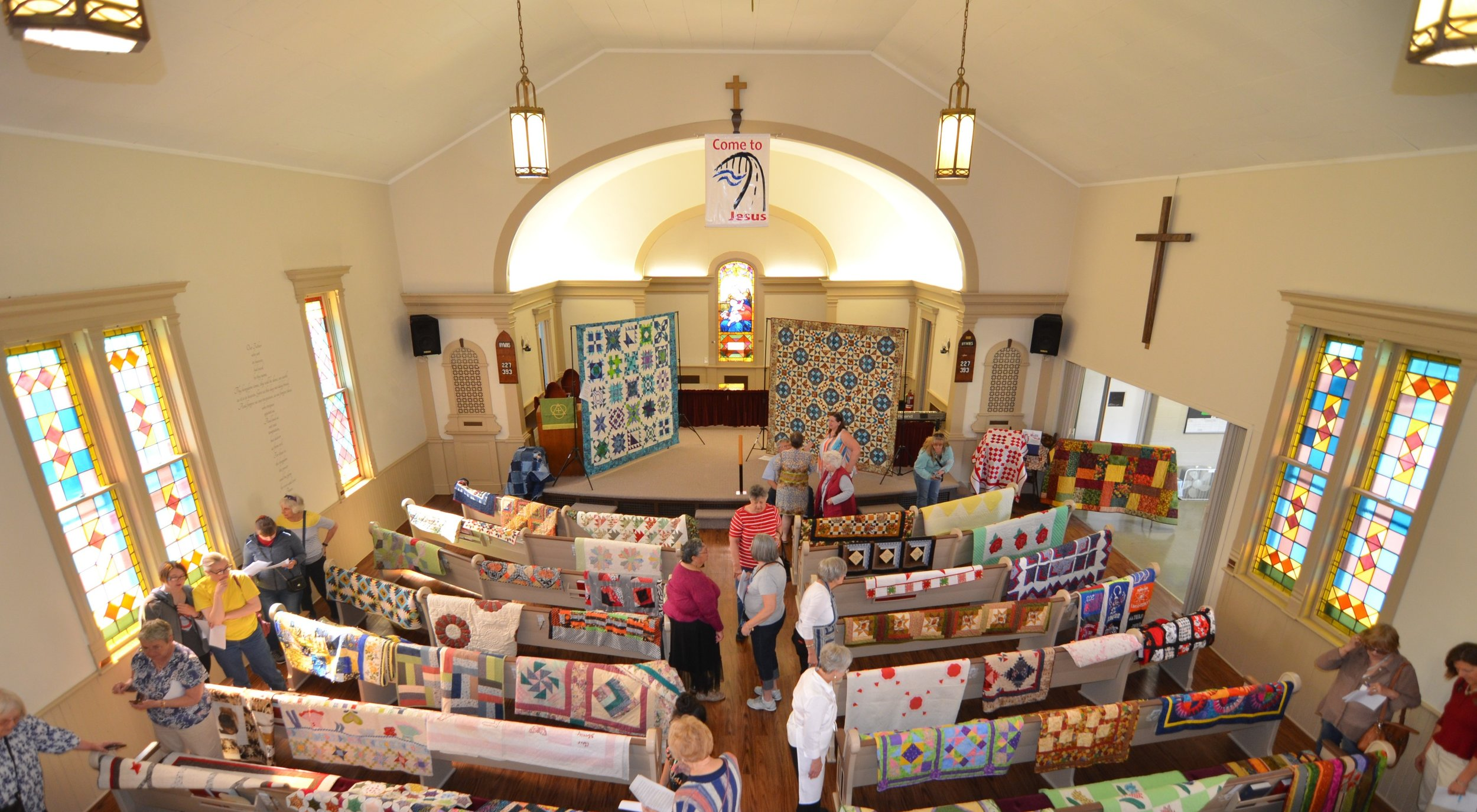 QUILTS IN THE VILLAGE: May 5, 2018