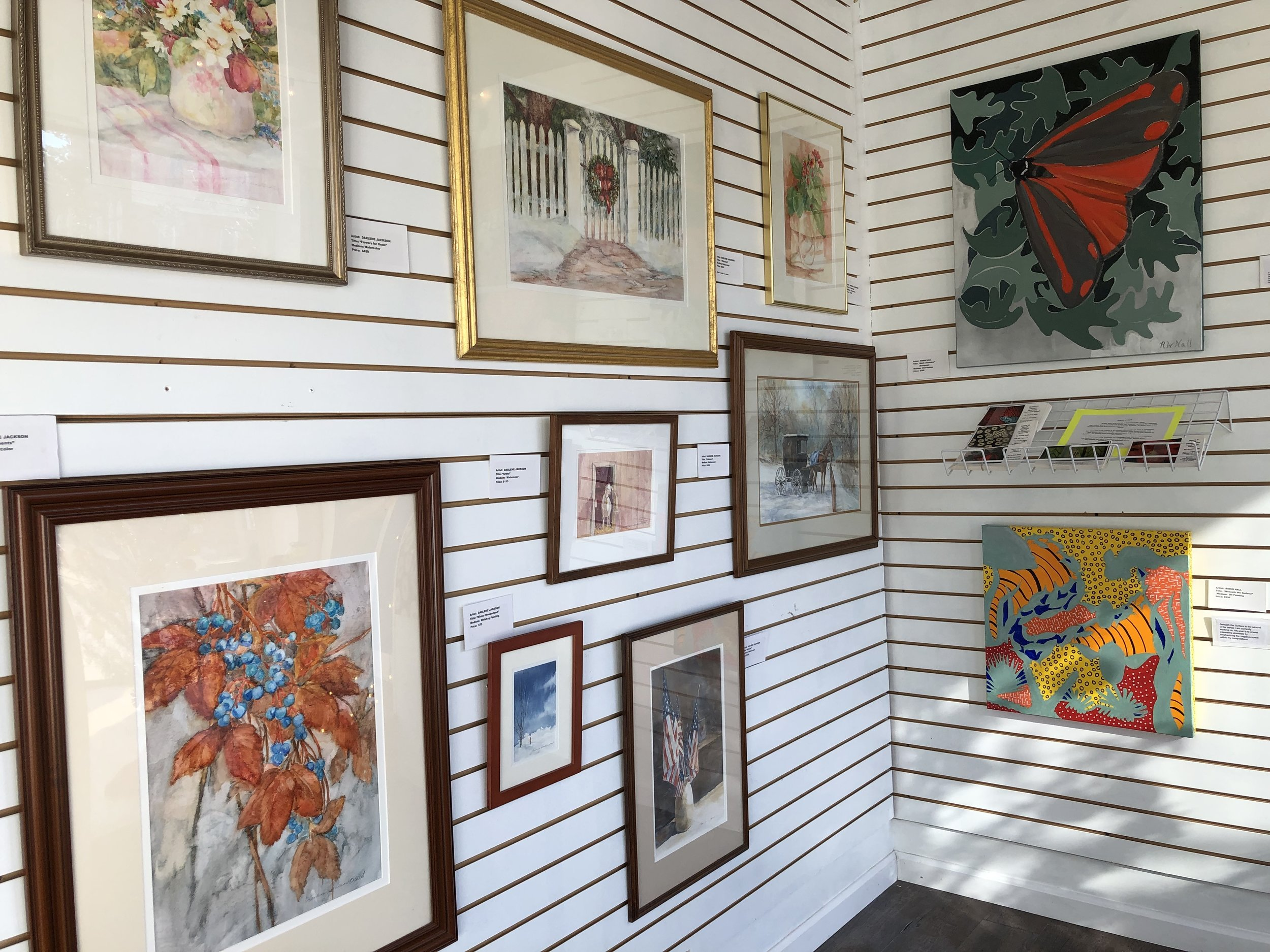 The Mantua Pop-Up Artists' Market presented a variety of fine arts and crafts created by local artists primarily from the northern Portage County Communities.