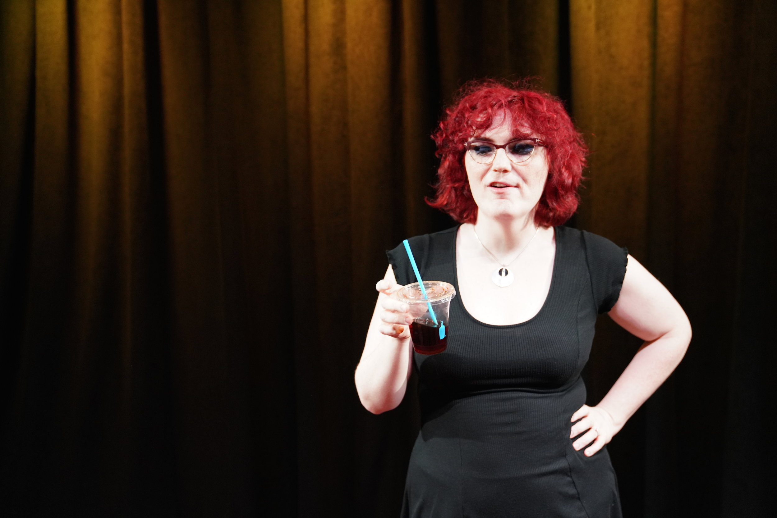 Chloe Koser - Chloe is a UCBT performer who spent three wonderful years as an actress on Maude Night. She acts, improvises, writes, and does stand-up and characters. Her one-woman show, 'Never a Boy,' is currently running at UCBT Hell's Kitchen.