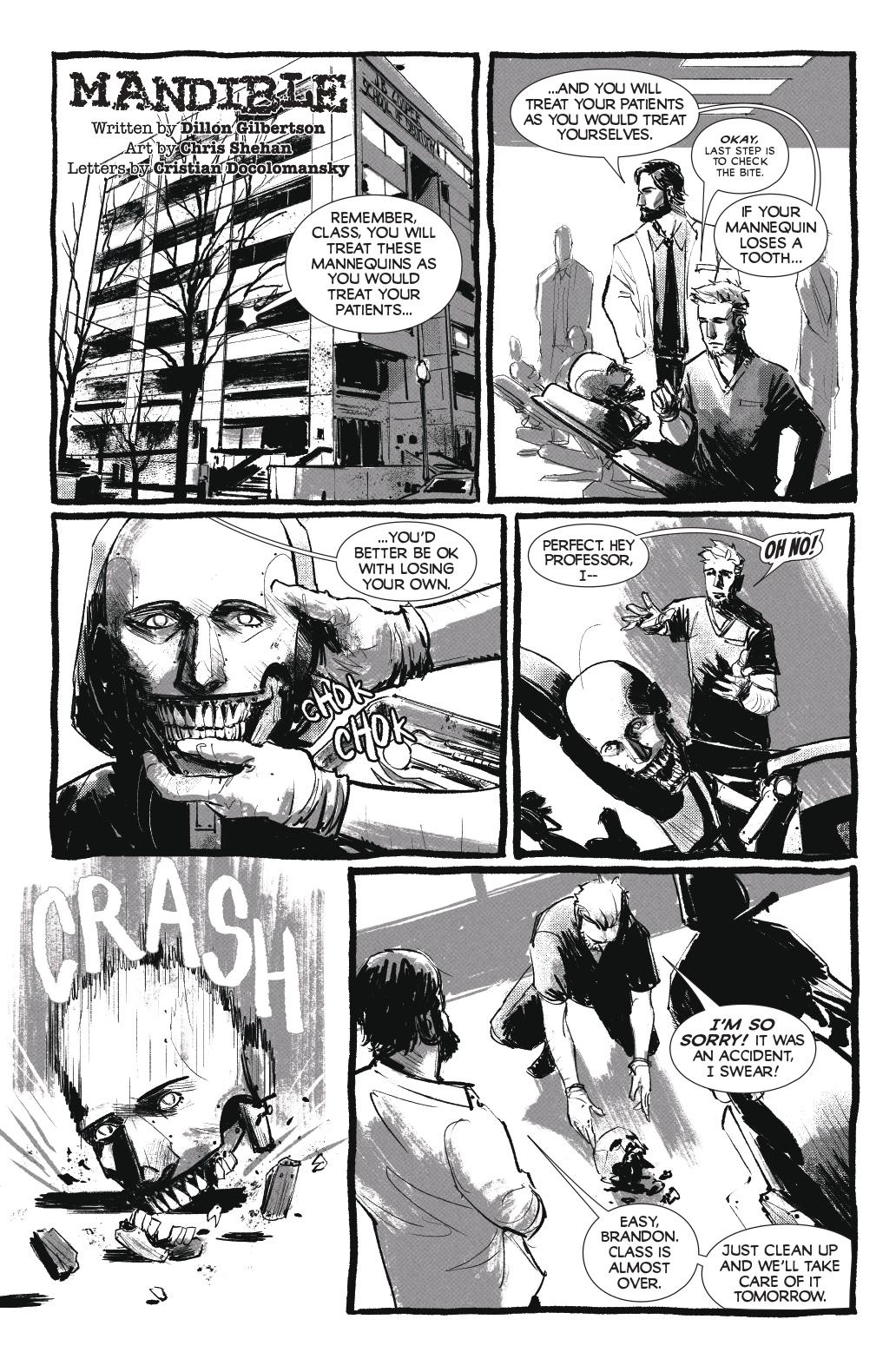 Mandible; Page 1
