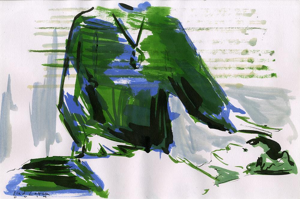 MEDIUM, 2014, ink on paper, 34x25 cm.jpg