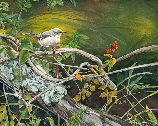 Mockingbird and Butterfly