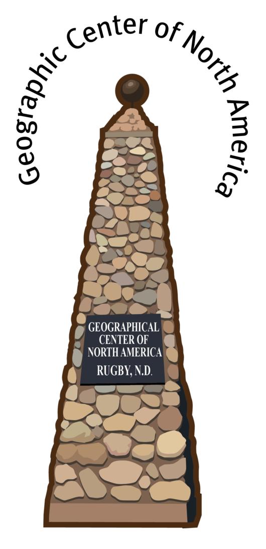 Center of North America Monument