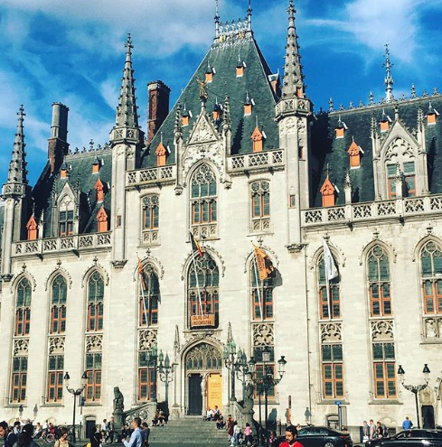 We were pottering around the streets of Bruges for the majority of the holiday...so much of the architecture is reminiscent of fairytale castles...it's a magical place!