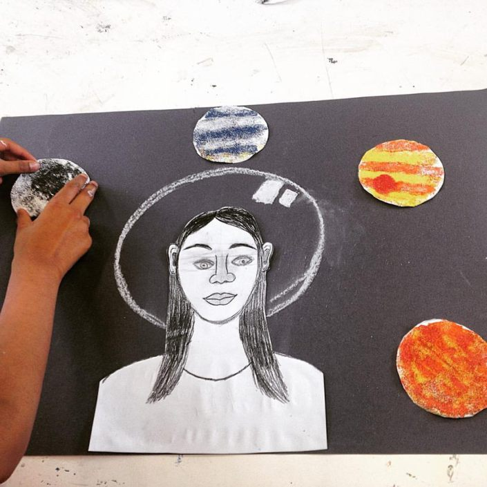 Devised and delivered the 'Space Arts' and 'Optical Arts' summer school for two years to East London based seven to twelve year olds during the school holiday period through  Rosetta Art Centre .