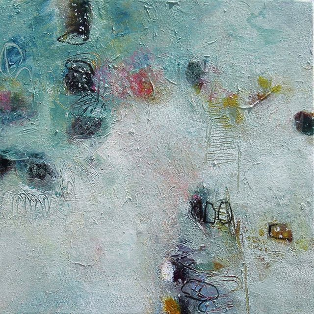 I Got the Blues 17'' x 17'' Mixed Media #abstractart . . . . . #texture #colors #calm #inthestudio #contemporaryart #painter #art #creativityfound #localart #abstractartist #artcollective #iloveart #maketimeforart #artforsale #artist #artworkoftheday #artoftheday #instaart #ilovecolor #mixedmedia #instaartist #artcollection #artlife #artcollector #collectart #artgallery #artforsale #bethschmohr