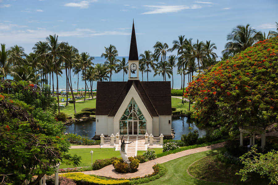 grand wailea chapel -