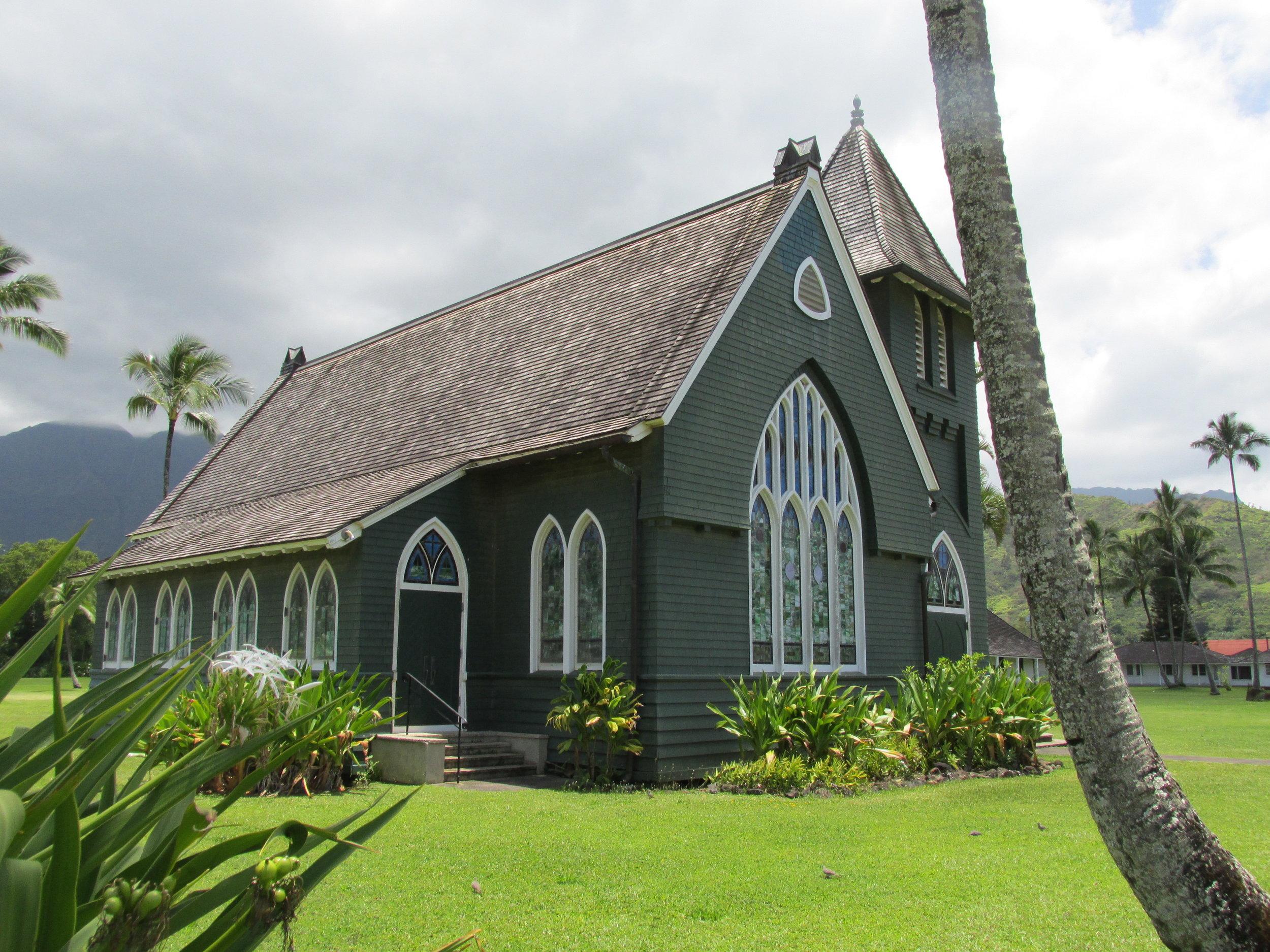 waiole huiia church hanalei -