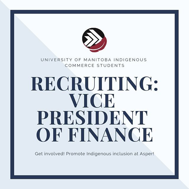 """Been thinking about applying to be UMICS' new Vice President of Finance but want to know more about what it involves? Meet Kieran!! • """"Hi there,  My name is Kieran Saindon and I'm the outgoing Vice President of Finance for UMICS. I've been in UMICS for four years, and on the executive for two. In the past year, I was tasked with taking payment, organizing sponsorship, and corresponding with sponsors to ensure that both the needs of our members as well as the companies were met. It was a wonderful opportunity to engage in my Metis culture, learn about First Nations and Inuit culture, and join a thriving community while gaining experience that will be valuable in my future career as an accountant. My favorite part about joining UMICS is the friends I've gained that I know will last a lifetime."""" • Apply online at umics.ca or email your resume to president@umics.ca!"""