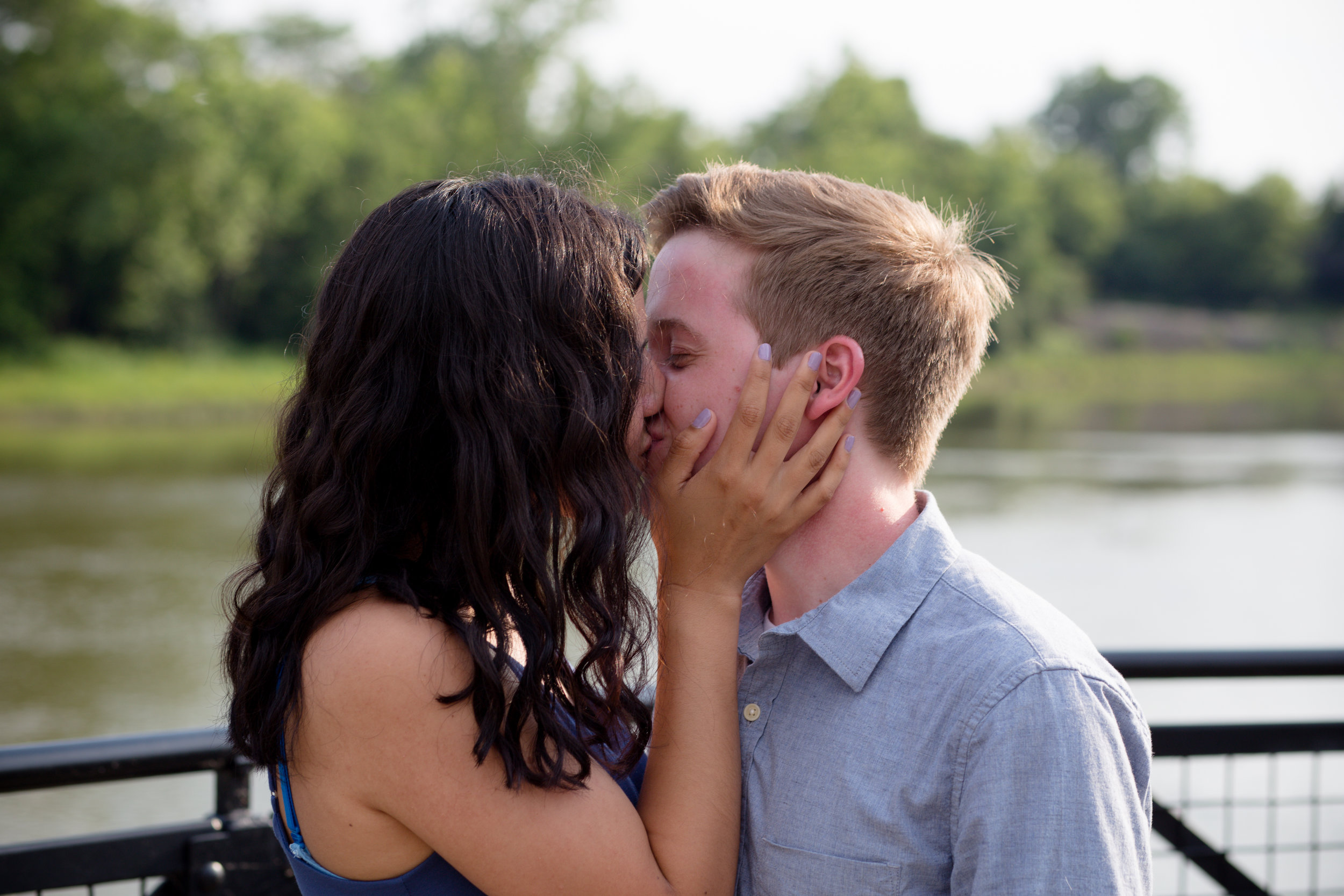 proposal photos, engagement moment pictures, down on one knee, she said yes, pop the question, columbus ohio wedding photographers
