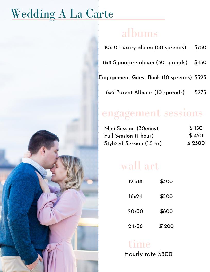 luxury high end wedding photographers columbus ohio