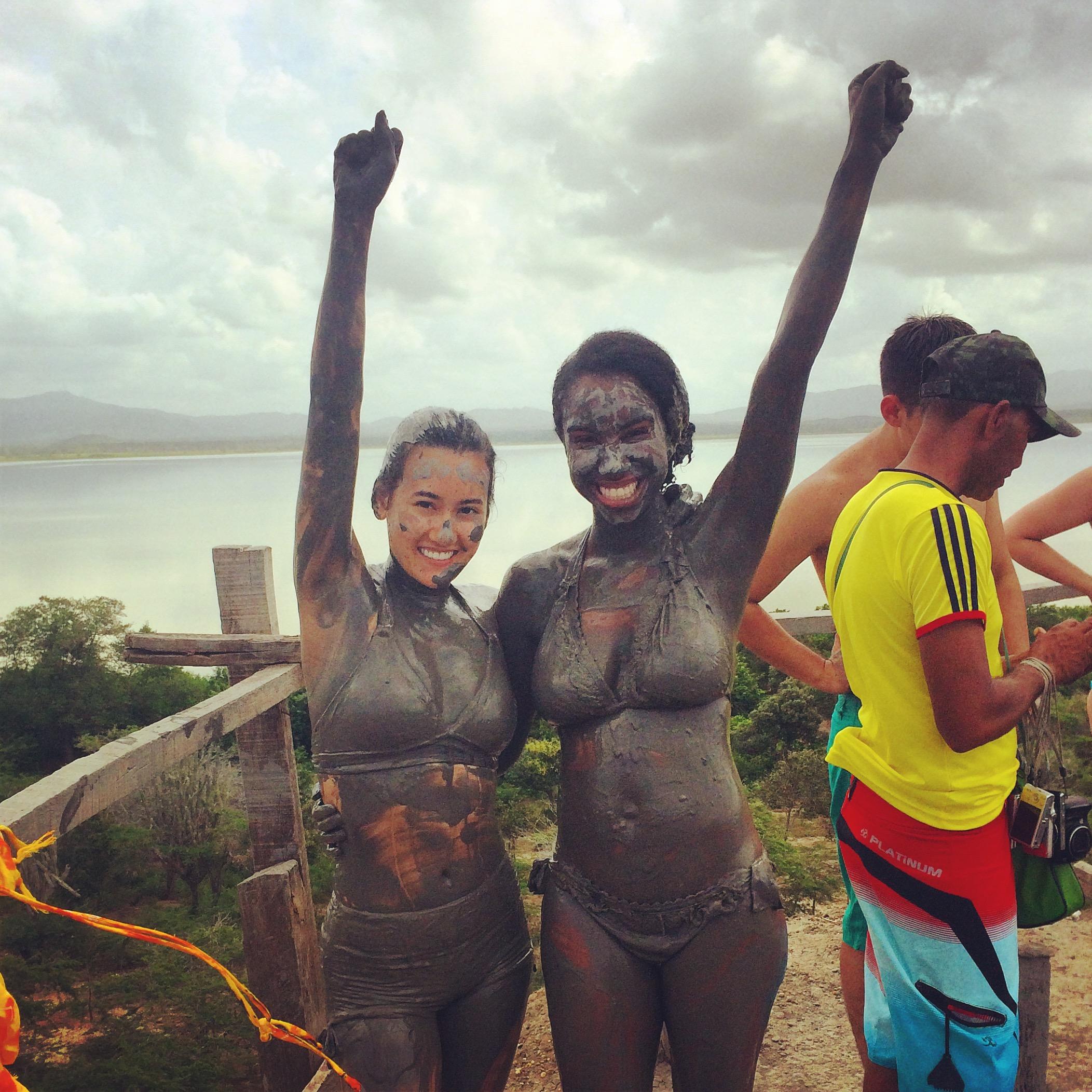volcano mud bath