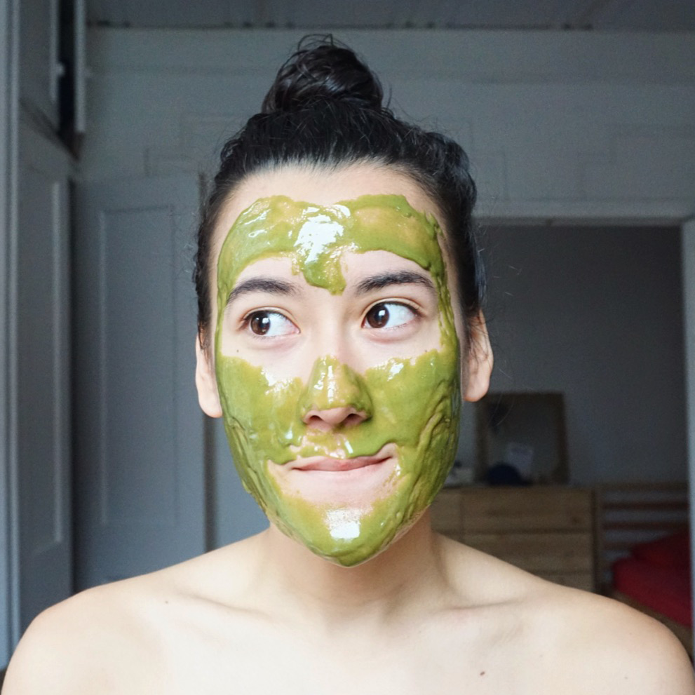 matcha green tea mask