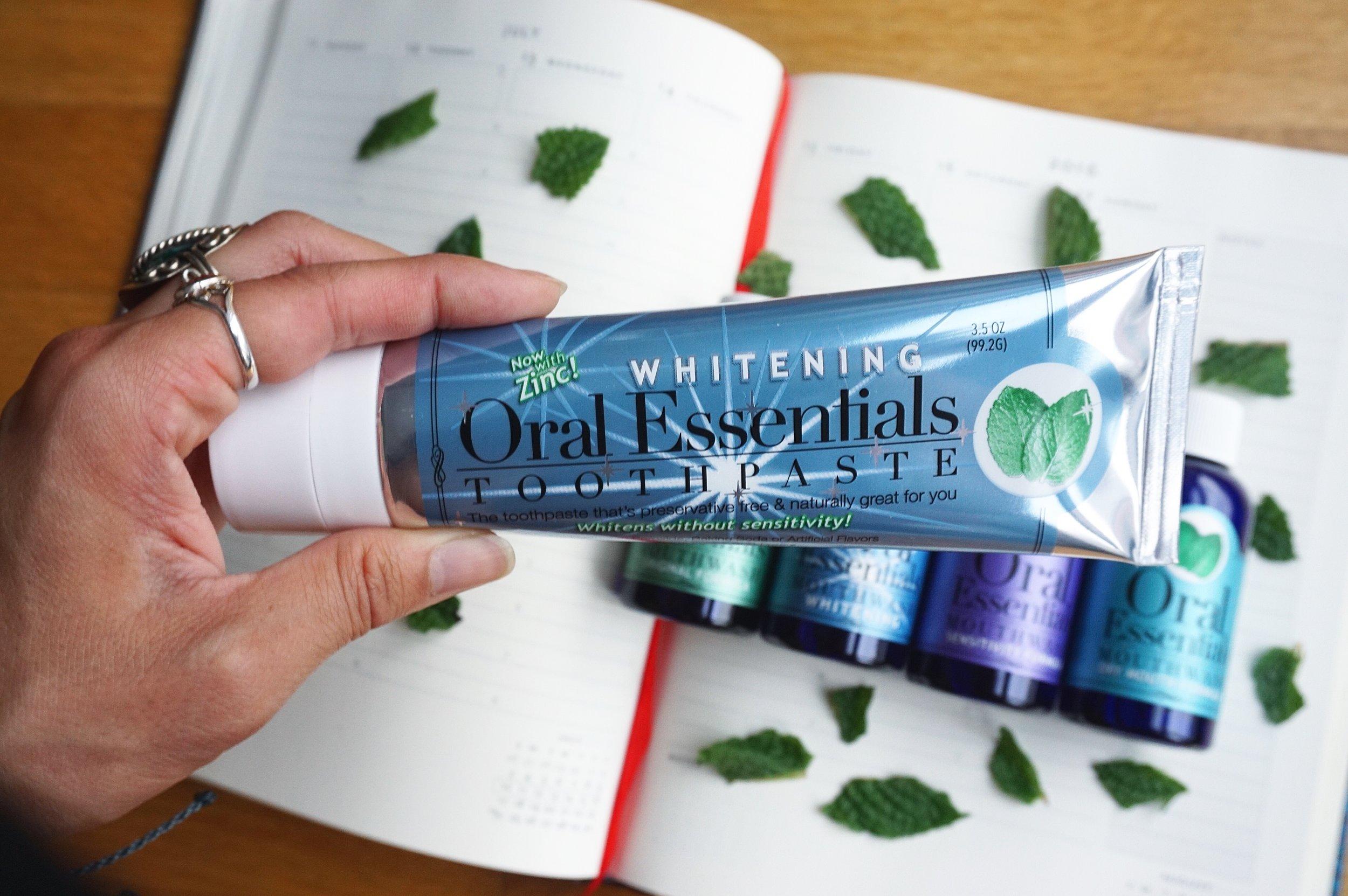 oral essentials toothpaste