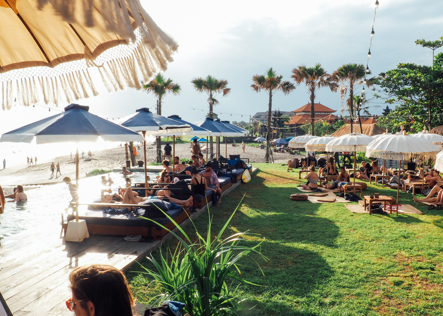 bali travel guide: canggu, the lawn
