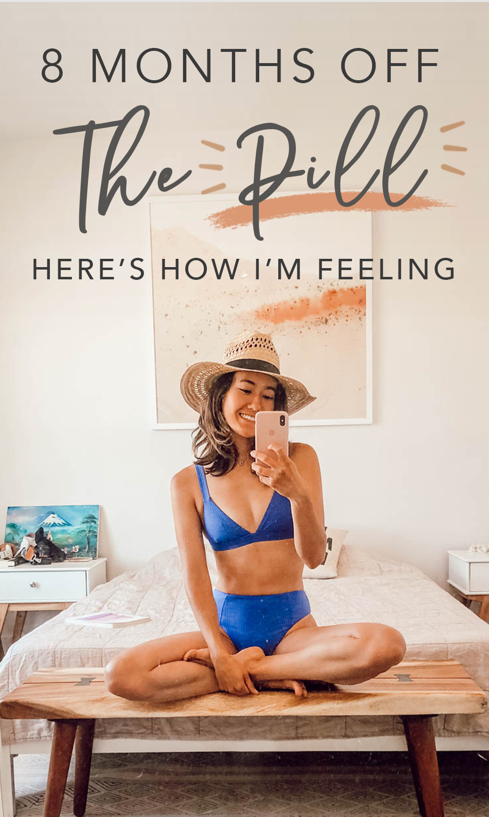 Are you thinking of going off hormonal birth control? After 9 years on the pill, I decided to quit with my doctor's recommendation to improve my gut health. In this post, I share real talk on what it's like and how I'm feeling after 8 months of being off the pill. Plus you'll find some helpful tips for dealing with some of the side effects you might experience. | Om & the City Blog #omandthecity #wellnesstips #birthcontrol #thepill #healthtips